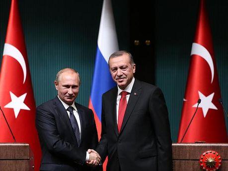 Президенти Росії і Туреччини