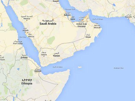 Ємен на мапі