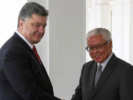 Президенти України і Сінгапуру