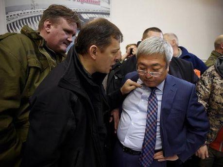 Олег Ляшко и мэр Запорожья