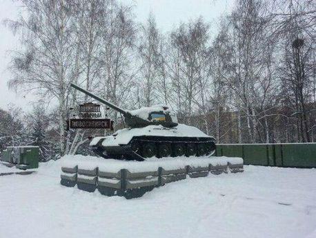 Монумент Славы в Новосибирске
