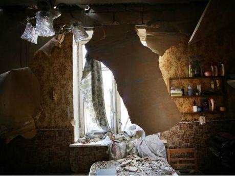 Разрушенный Луганск