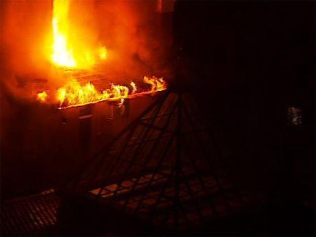 Пожежа у Києві