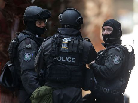 Австралийские полицейские