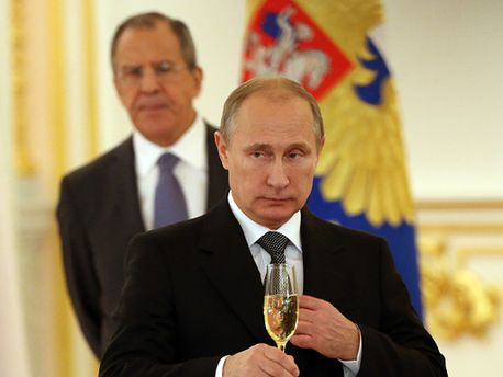В. Путин и С. Лавров