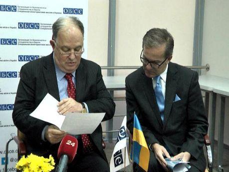 С января с миссией ОБСЕ в Украине будут сотрудничать 400 украинцев