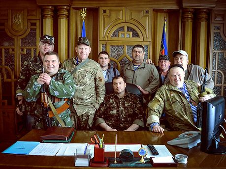 Главари боевиков