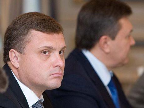 С. Левочкин и В. Янукович