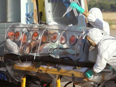 Госпіталізація хворого вірусом Ебола