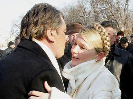 Тимошенко і Ющенко