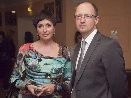 Семья Яценюков