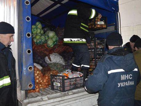 Українська гуманітарна допомога прорвалася на окуповану територію