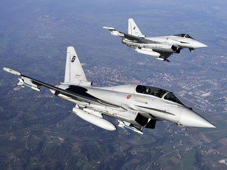 Винищувачі Eurofighter Typhoon