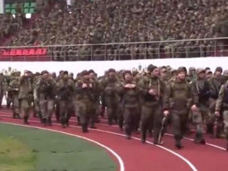 Чеченские силовики