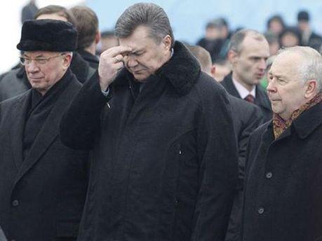 Азаров, Янукович і Рибак