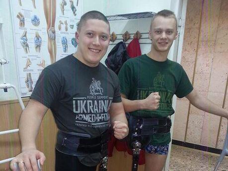 Учасники АТО Сергій і Роман
