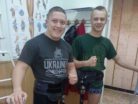 Участники АТО Сергей и Роман