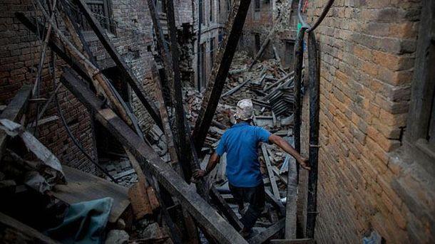 Наслідки землетрусу в Непалі