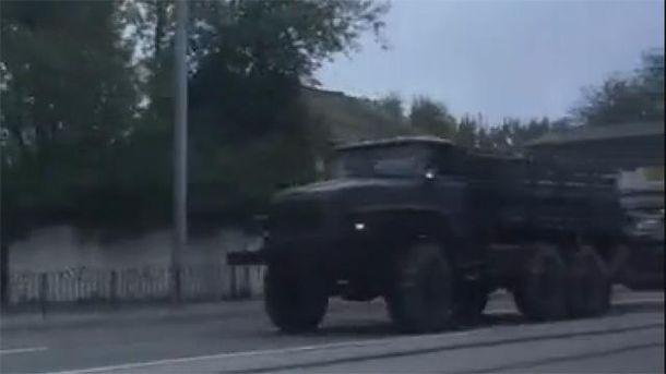 Техніка в Донецьку