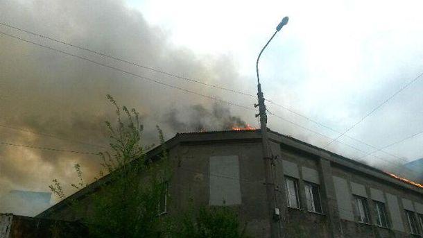 Пожежа в Маріуполі