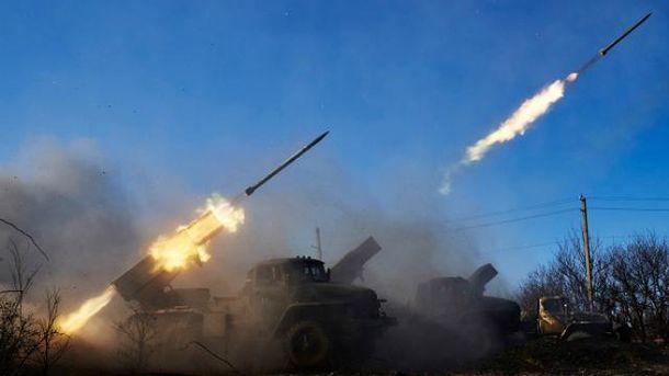 Боевики обстреливают позиции украинских бойцов