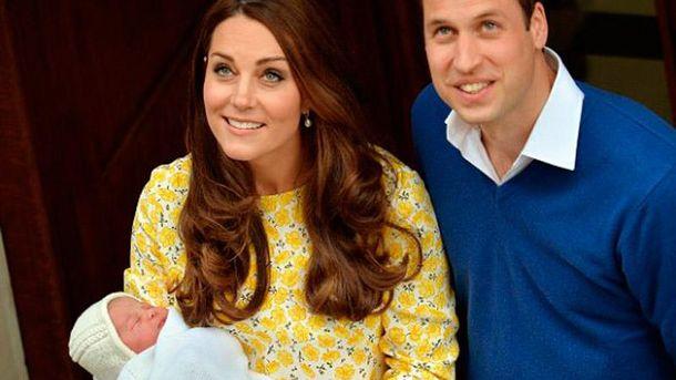 Королівська сім'я з дочкою