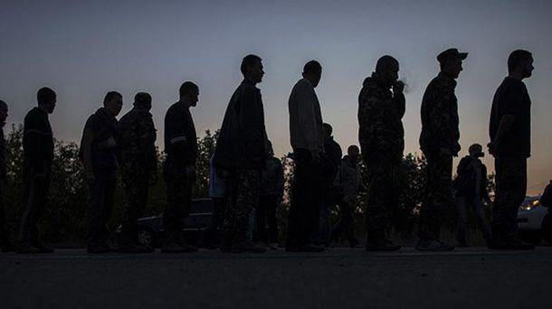 Украинцы в плену