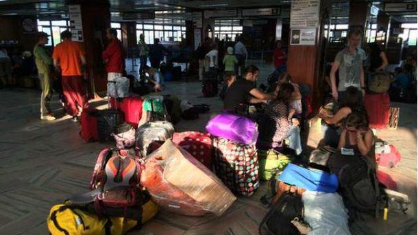 Евакуація з Непалу