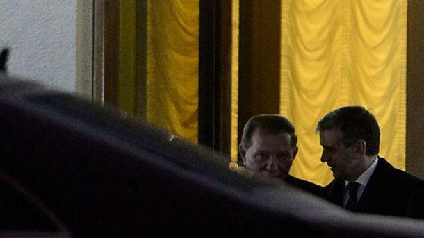 Леонид Кучма в Минске
