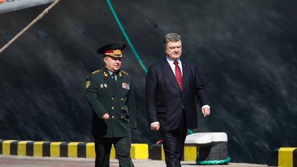 Петр Порошенко и Степан Полторак