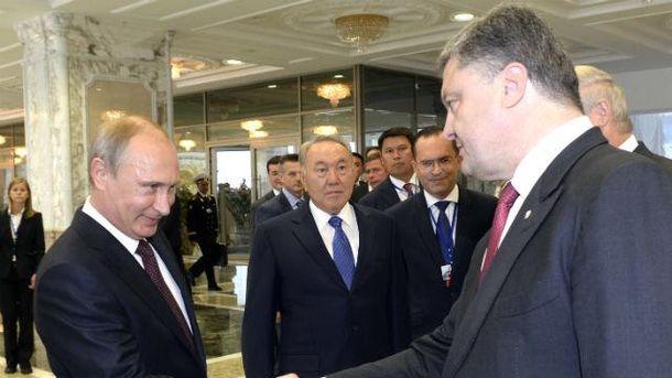 Путін і Порошенко