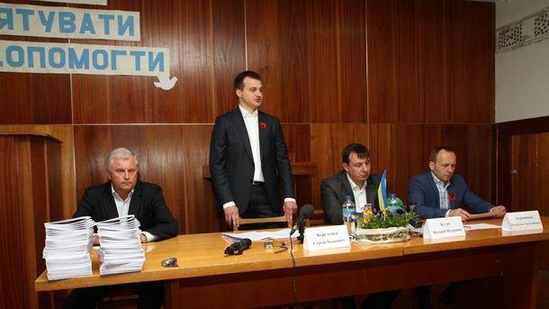 Березенко в Чернигове рассказал, как защищать права бойцов АТО