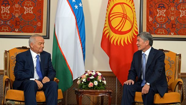 Ислам Каримов и Алмазбек Атамбаев