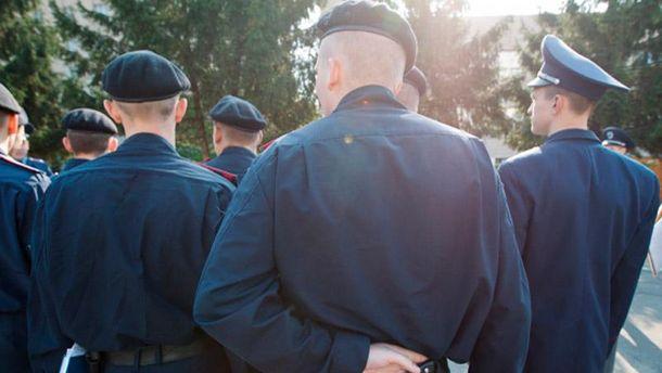 Милиционеры