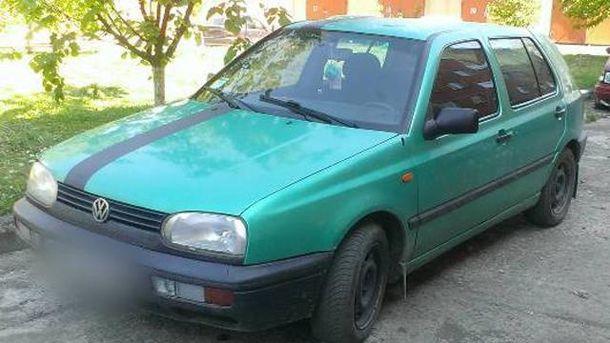 Автомобиль жителя Ивано-Франковска