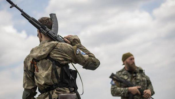 Бандформирования на Донбассе