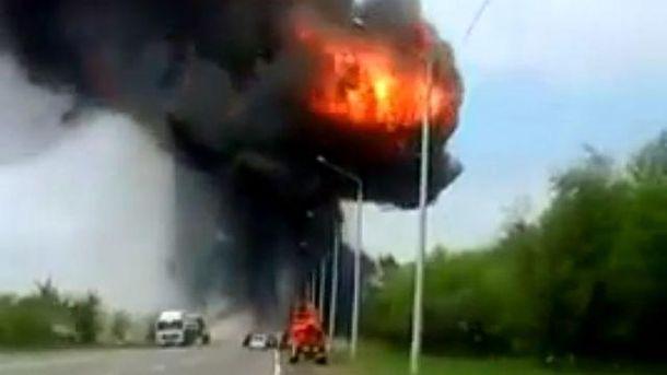 У Росії вибухнула вантажівка з реагентами: пошкоджені навколишні будинки
