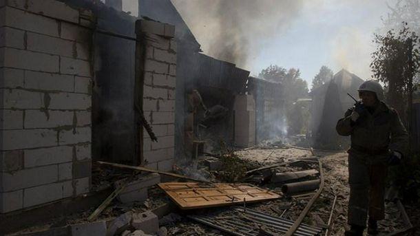 Обстрелы возле Донецка