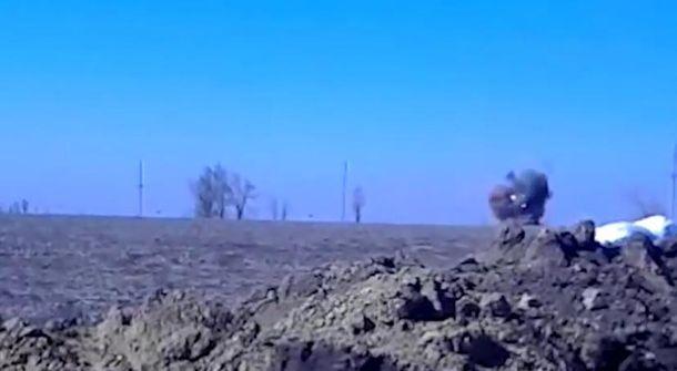 Попадание в танк