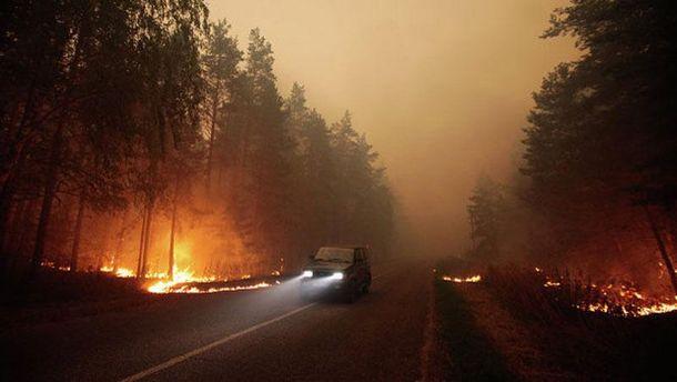 Пожар в Сибири