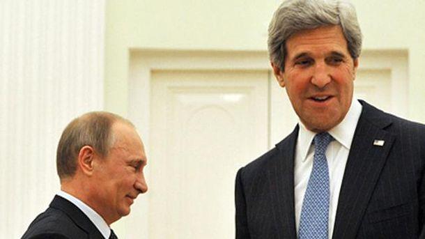 Путін та Керрі