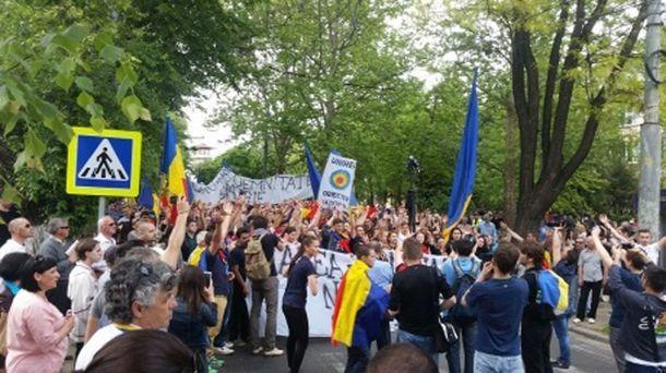 Мітинг у Кишиневі