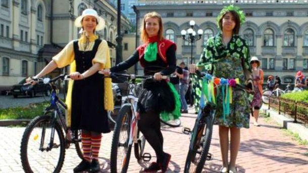 Женский велопарад