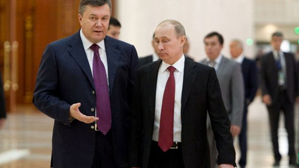 Віктор Янукович і Володимир Путін
