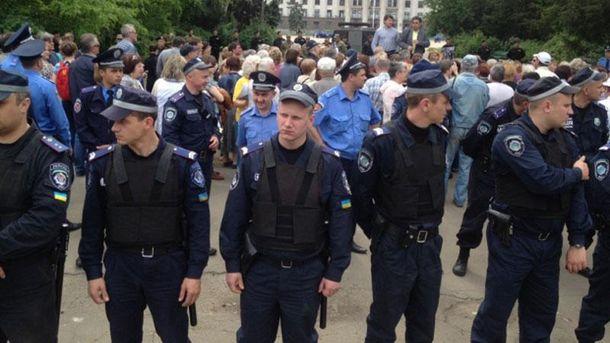В Одессе едва не случилась массовая потасовка