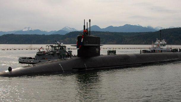 Ядерная субмарина Trident