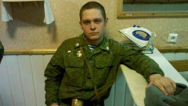 Пленный российский спецназовец