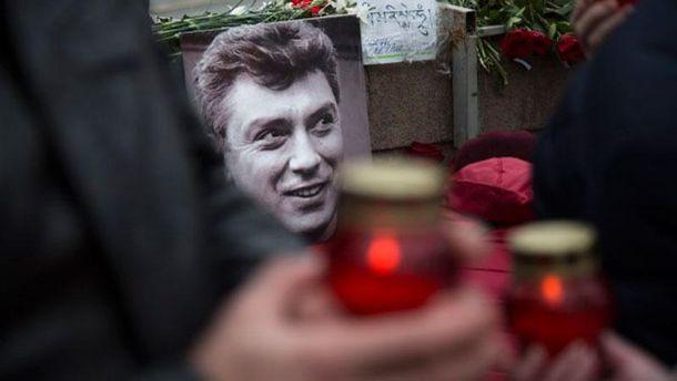 Місце вбивства Бориса Нємцова