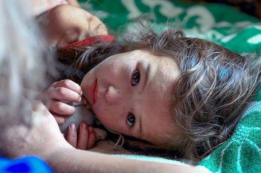 Дівчинка, що вижила після 11-денного перебування в сибірському лісі