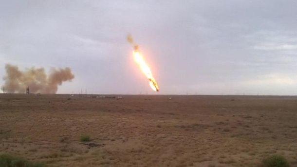 Падение ракеты